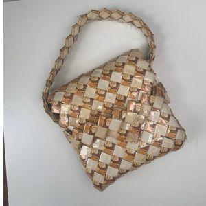Vintage Prison Art Camel Cigarette Origami Handbag